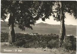 X3840 Bracciano (Roma) - Panorama E Lago / Viaggiata 1955 - Italia