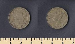 Fiji 3 Pence 1947 - Fidji