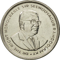 Monnaie, Mauritius, 20 Cents, 1999, TTB, Nickel Plated Steel, KM:53 - Mauritius