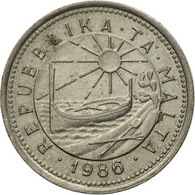 Monnaie, Malte, 2 Cents, 1986, TB+, Copper-nickel, KM:79 - Malta