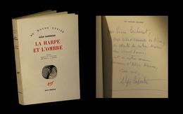 [ENVOI DEDICACE SP] CARPENTIER (Alejo) - La Harpe Et L'ombre. EO Fr. - Livres Dédicacés