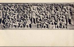 Roma - Museo Cristiano Del Laterano - Sarcofago II Sec. Putti Vendemmiatori - Tre Immagini Del Buon Pastore - Formato Pi - Musei