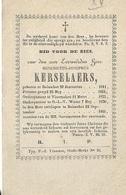 DP2/ ° BOISSCHOT 1811 + 1861 E.H.BENEDICTUS KERSELAERS PASTOR:VISSENAKEN/O L V WAVER - Religion & Esotericism