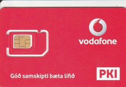 Iceland - Vodafone (standard,micro,nano SIM)- GSM SIM  - Mint - Iceland