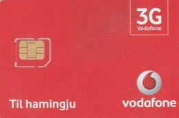 Iceland - Vodafone 3G (micro SIM)- GSM SIM  - Mint - Iceland