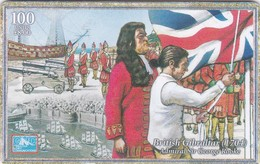 Gibraltar, GIB-C-23, Towards The Millenium, British Gibraltar, Flag, 2 Scans. - Gibraltar