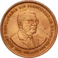 Monnaie, Mauritius, 5 Cents, 1995, TB+, Copper Plated Steel, KM:52 - Mauritius