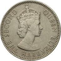 Monnaie, Mauritius, Elizabeth II, 1/4 Rupee, 1960, TTB, Copper-nickel, KM:36 - Mauritius