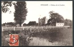 Mansigné - Château De La Costière - Voir 2 Scans - Other Municipalities