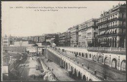 Le Boulevard De La République, Alger, C.1910 - Régence CPA - Algiers