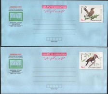 1st Series Commemorative Complete Set Of 8 Different Birds Postal Envelopes (Limited Edition) - Philatelie & Münzen