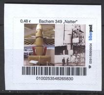 "Biber Post Bachem 349 ""Natter""  (space Exploration) (48)  G541 - Privados & Locales"
