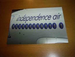 CPM ALLEMAGNE - Airbus A319  Independance Air - PORT GRATUIT - 1946-....: Moderne