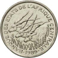 Monnaie, États De L'Afrique Centrale, 50 Francs, 1989, Paris, TTB, Nickel - Centrafricaine (République)