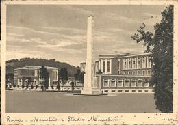 Roma (Lazio) Monolito E Stadio Mussolini - Stadien & Sportanlagen