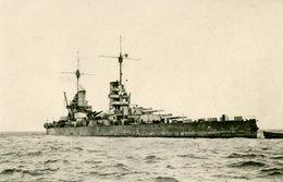 Bateau De Guerre Allemand - Limienschiff Friedrich - Cuirassé:  Cliché - Guerre