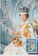 Carte Maximum 1978 Reine Elisabeth II 119 - Man (Ile De)