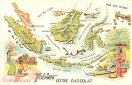 Image Publicitaire Chocolat Tobler , Tour Du Monde , N° 9 , Malaisie , * 272 74 - Vieux Papiers
