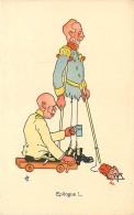 MILITARIA , Caricature Satyrique Anti Allemande , Epilogue , * 274 72 - Guerra 1914-18