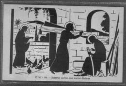 Catholiques Et Juifs Christ Jésus Vierge Marie Ange CM- 89 Charrue Sortie Des Mains Divines - Judaisme