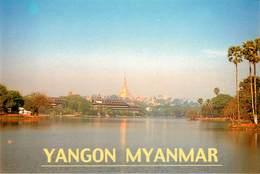 Asie - Yangon Myanmar ( Burma ) - Moderne Grand Format - état - Myanmar (Burma)