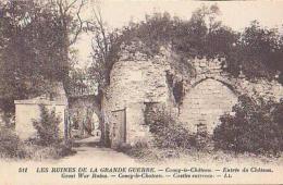 Aisne        376        Coucy Le Château.Entrée Du Château - Autres Communes