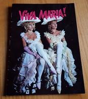 Altes/Seltenes Andenkenheft (16 Seiten) - BRIGITTE BARDOT Und JEANNE MOREAU Im Kinofilm VIVA MARIA ! - 180552 - Magazines