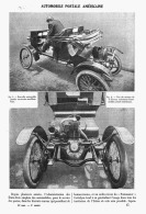 AUTOMOBILE POSTALE AMERICAINE     1907 - Transports