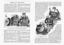 COMPTEUR à GAZ à NIVEAU CONSTANT   1907 - Non Classés