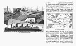 L'ACCELERATION DES TRAVERSéeS MARITIMES  ( LUSITANIA ) 1907 - Transports