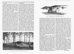 "L'AEROPLANE  "" EDMON SEUX ""  1907 - Transports"