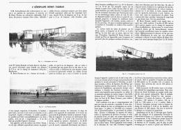"L'AEROPLANE  "" HENRY FARMAN "" 1907 - Transports"