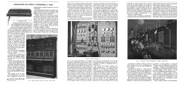 L'ORGANISATION DES BUREAUX TELEPHONIQUES à PARIS     1907 - Téléphonie