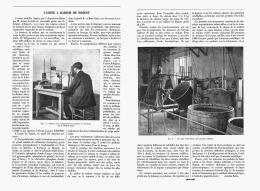 L'USINE De RADIUM  De NOGENT Sur MARNE 1907 - Ile-de-France