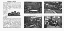 LA FABRICATION Du PNEUMATIQUE ( PNEUMATIQUES L'ELECTRIC )  1907 - Transports