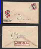South Africa, Singer Sewing Machines, 1d, BARBERTON 28 JUL37 > LOUWS CREEK - South Africa (...-1961)