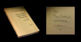 [ENVOI DEDICACE] GARCIA MARQUEZ (Gabriel) - Chronique D'une Mort Annoncée. EO Fr. - Livres, BD, Revues