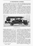 LE PHARE-PROJECTEUR AUTOMOBILE   1907 - Transports