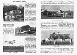 "LES AEROPLANES  "" BLERIOT "" 1907 - Transports"