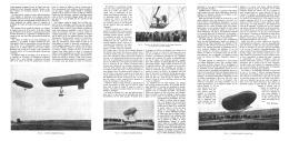 LES DIRIGEABLES ALLEMAND  1907 - Transportation