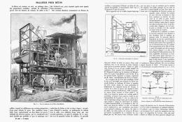 MALAXEUR Pour BETON  1907 - Sciences & Technique