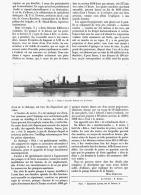 POMPE à INCENDIE FLOTTANTE Sur La TAMISE   1907 - Firemen