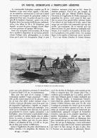 UN NOUVEL HYDROPLANE à PROPULSION AERIENNE   1907 - Transports