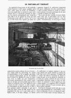 UN PONT-ROULANT TOURNANT  1907 - Sciences & Technique