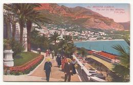 MONTE CARLO VUE SUR LES BAS MOULINS - Monte-Carlo