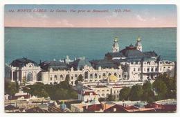 MONTE CARLO LE CASINO VUE PRISE DE BEAUSOLEIL - Monte-Carlo