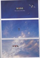 Dépliant    AVIATION-PARACHUTISME--SKYDIVE EMPURIABRAVA--the Land Of The Sky--voir 4 Scans - Paracadutismo