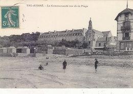 VAL-ANDRE : LA COMMUNAUTEE VUE DE LA PLAGE.1913.ANIMEE.PEU COURANTE.B.ETAT.PETIT PRIX.COMPAREZ!!! - Pléneuf-Val-André