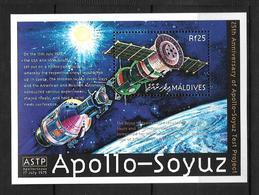 MALDIVES 2000 APOLLO-SOYOUZ  YVERT N°B451  NEUF MNH** - Space