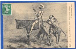 GAYAC - Don Quichotte Et Sancho Pança - Autres Illustrateurs